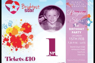Brightest Star 1st Birthday